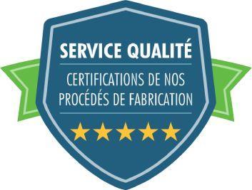 Badge services qualités